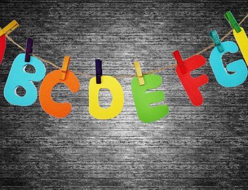 Om welke letter zet jij dit schooljaar een cirkel?